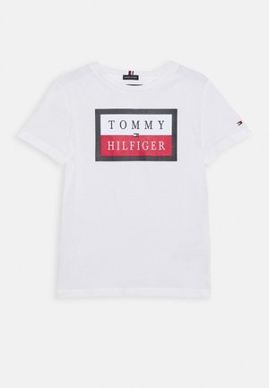 ESSENTIAL LOGO TEE - Print T-shirt - white