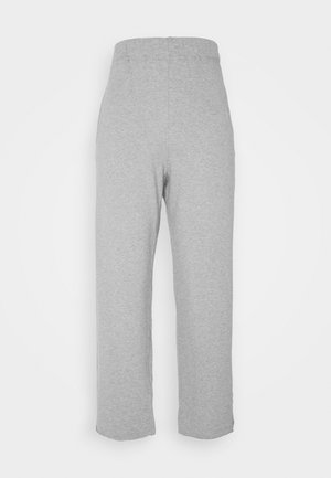 Tracksuit bottoms - melange grey