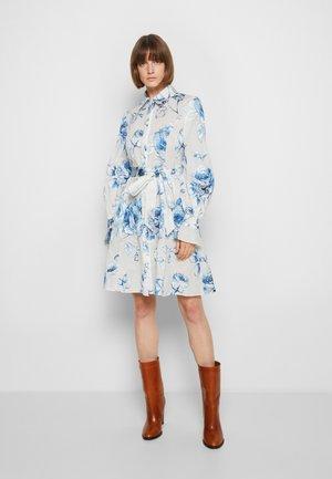 Cocktail dress / Party dress - white/blue