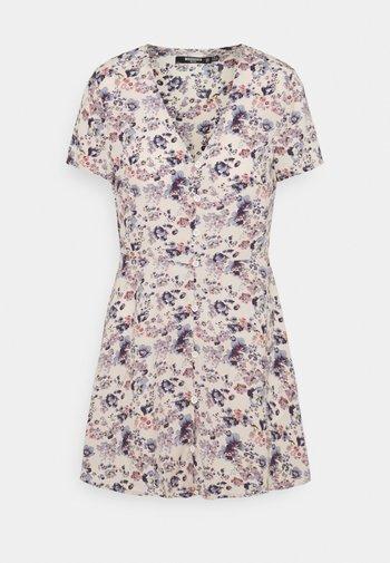 BUTTON THROUGH TEA DRESS - Kjole - lilac