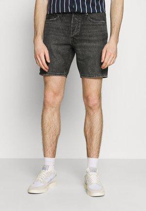 JJICHRIS JJORIGINAL - Denim shorts - black denim