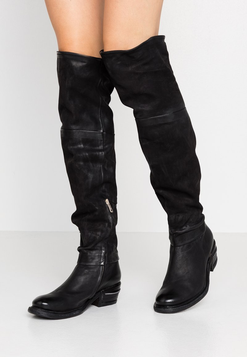 A.S.98 - Over-the-knee boots - nero