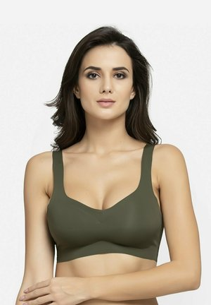 LIGHTLY PADDED WIREFREE - Bustier - olive green