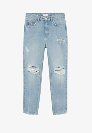 Slim fit jeans - middenblauw