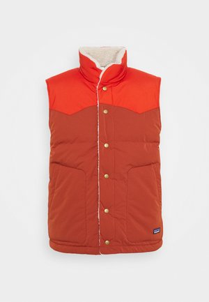 REVERSIBLE BIVY VEST - Bodywarmer - barn red