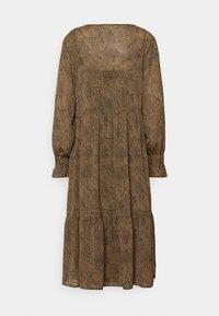 Moss Copenhagen - RIKKELIE DRESS - Day dress - brown - 6
