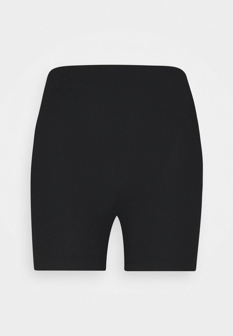 Monki - Shorts - black dark