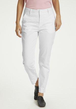 SOFFYSPW PA - Trousers - bright white