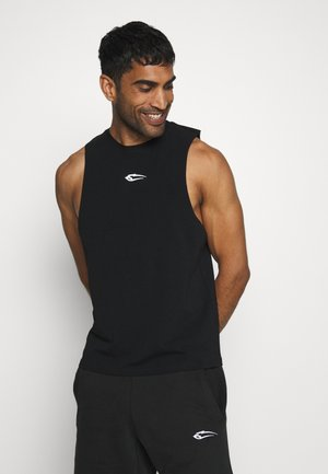 TANK CUT - Top - schwarz
