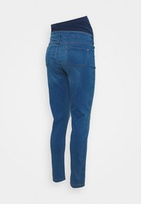 Dorothy Perkins Maternity - MATERNITY MIDWASH OVERBUMP FRANKIE - Jeans Skinny Fit - mid wash denim - 1