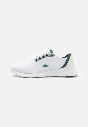 FIT - Sneakersy niskie - white/dark green