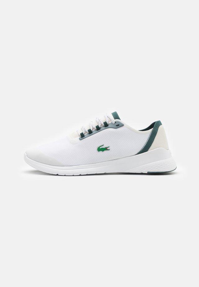FIT - Sneaker low - white/dark green