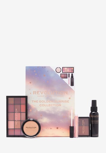 REVOLUTION GOLDEN SUNRISE COLLECTION - Makeup set - golden sunrise