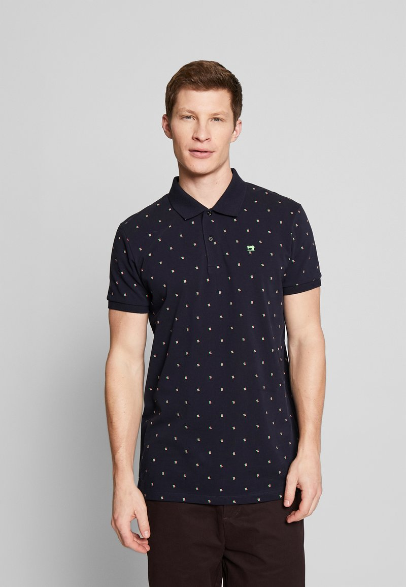 Scotch & Soda - CLASSIC MINI ALL-OVER PRINT - Poloshirt - combo