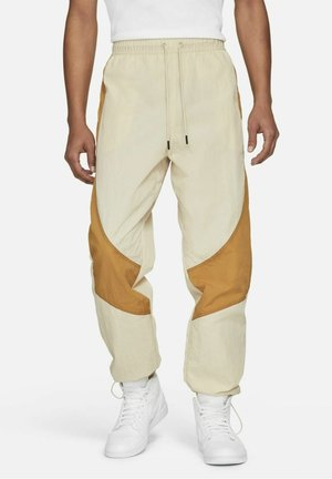 FLIGHT  - Tracksuit bottoms - beach    wheat