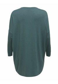 ONLY Carmakoma - CARCARMA LONG - Long sleeved top - balsam green - 1