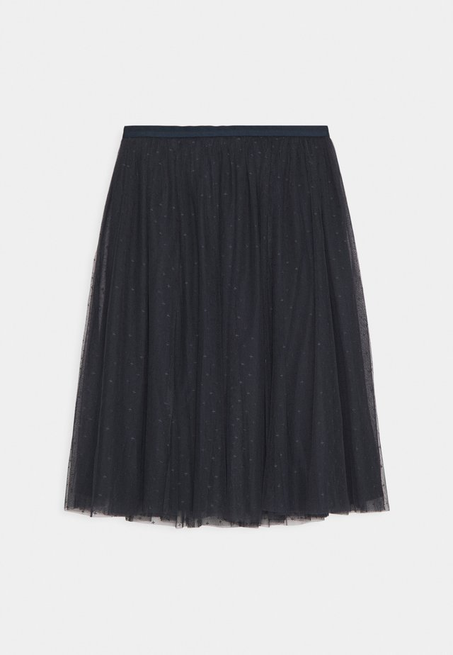 KISSES MIDI SKIRT EXCLUSIVE - A-lijn rok - sapphire sky