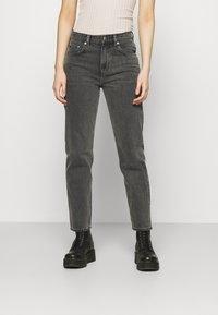 ARKET - Jeans straight leg - washed black - 0