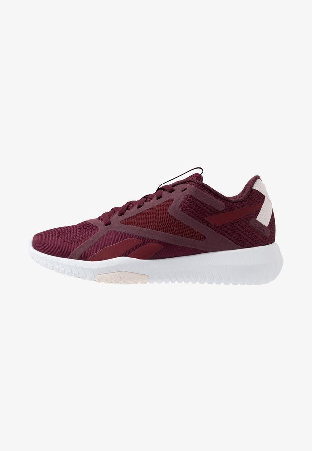 FLEXAGON FORCE 2.0 - Zapatillas de entrenamiento - maroon/merlot/pink