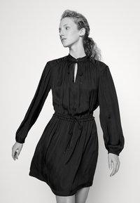 Claudie Pierlot - RUFFLE - Day dress - noir - 3