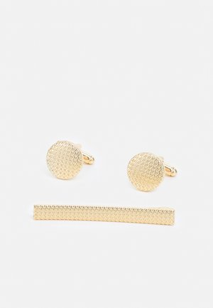 ETCHE CUFFLINK SET - Cufflinks - gold-coloured