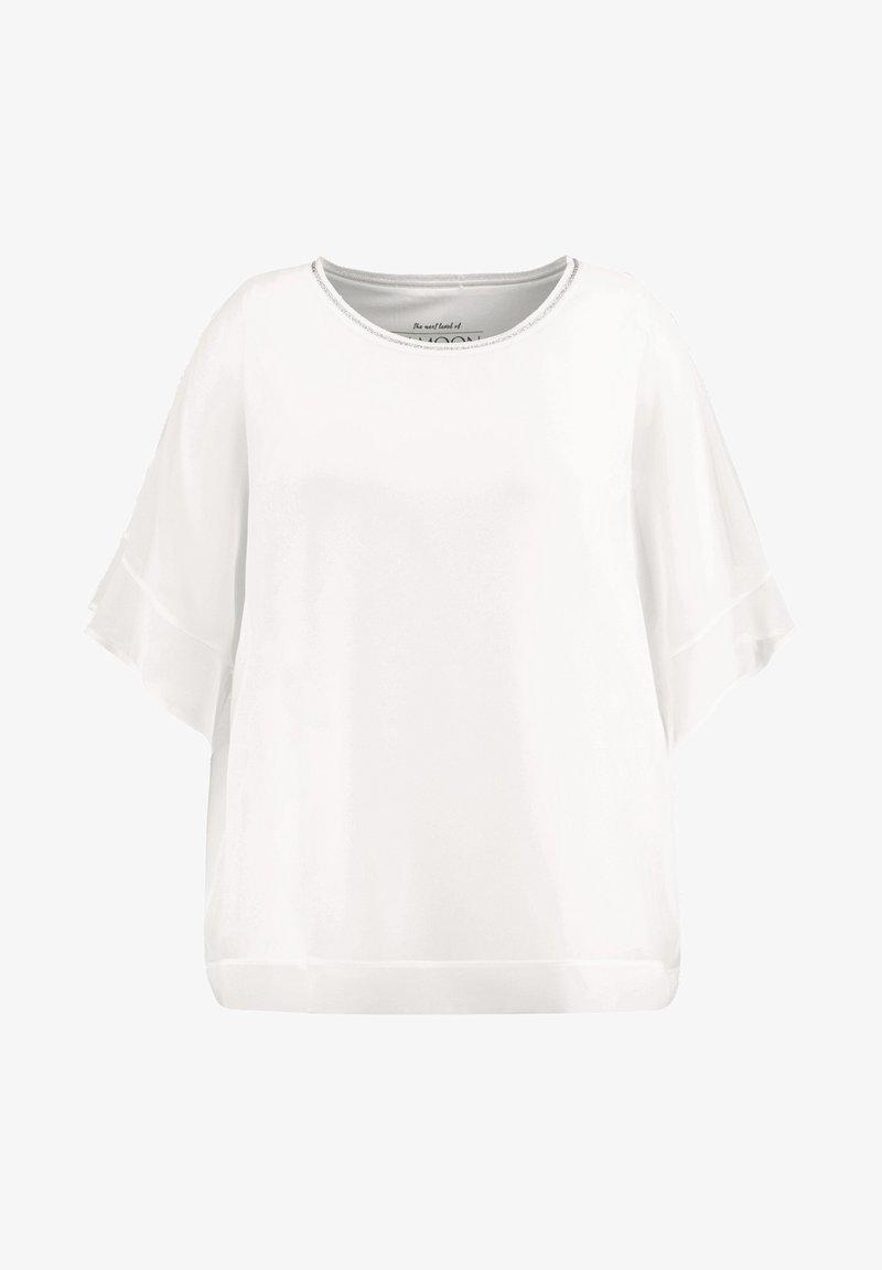 Samoon - 2-IN-1 BLUSE IM LEGEREN STYLE - Basic T-shirt - offwhite