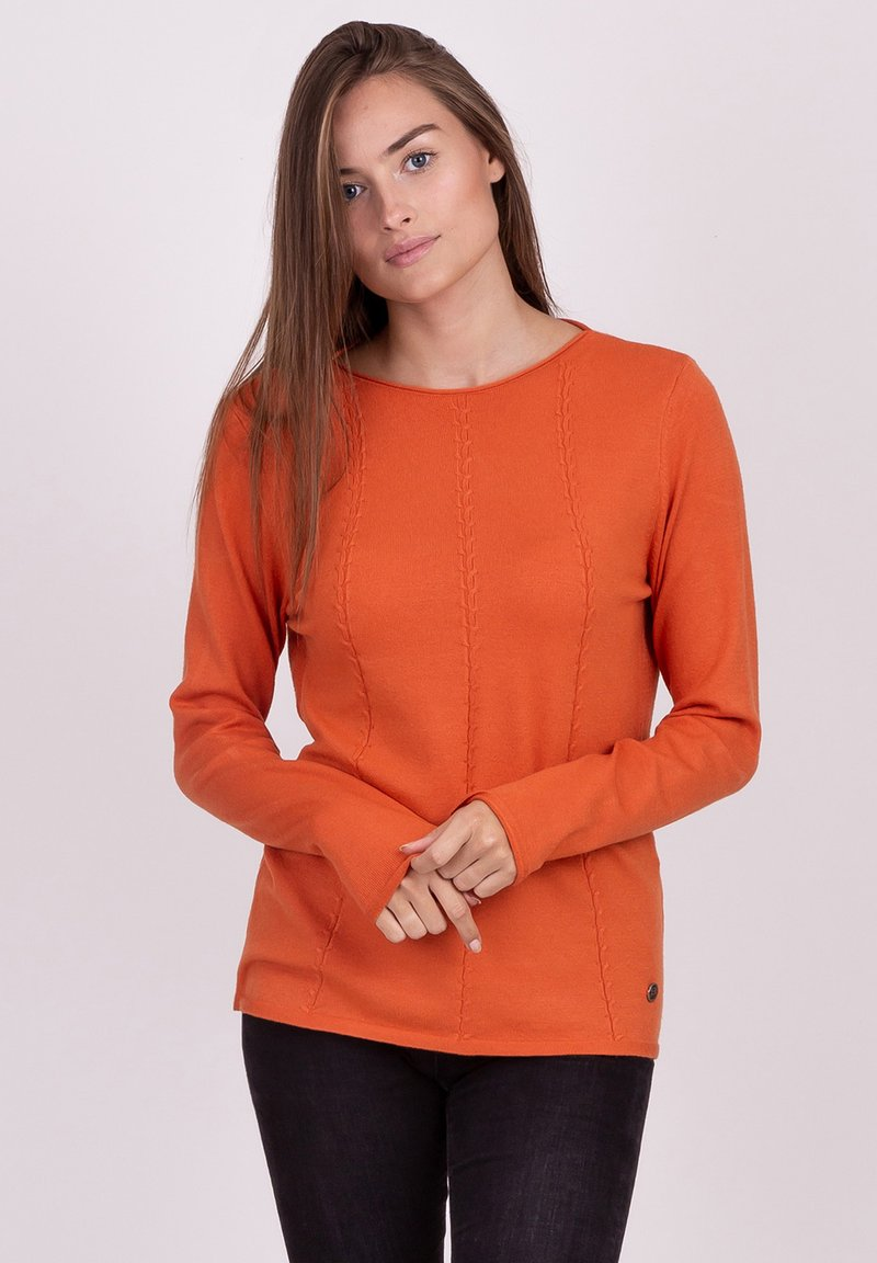 Key Largo - Long sleeved top - burned orange
