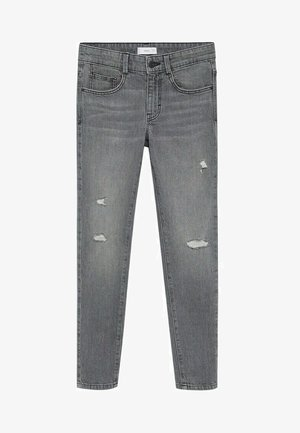 CALVIN - Slim fit jeans - gris denim