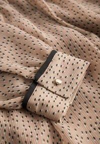 ORSAY - PUNKTEN - Jumper dress - creme beige - 4