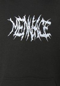 Mennace - LIGHTNING STEED REGULAR HOODIE - Sweatshirt - black - 2