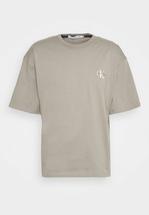 MONOGRAM MODERN TEE - Camiseta estampada - elephant skin