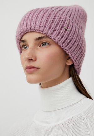 Beanie - grey pink