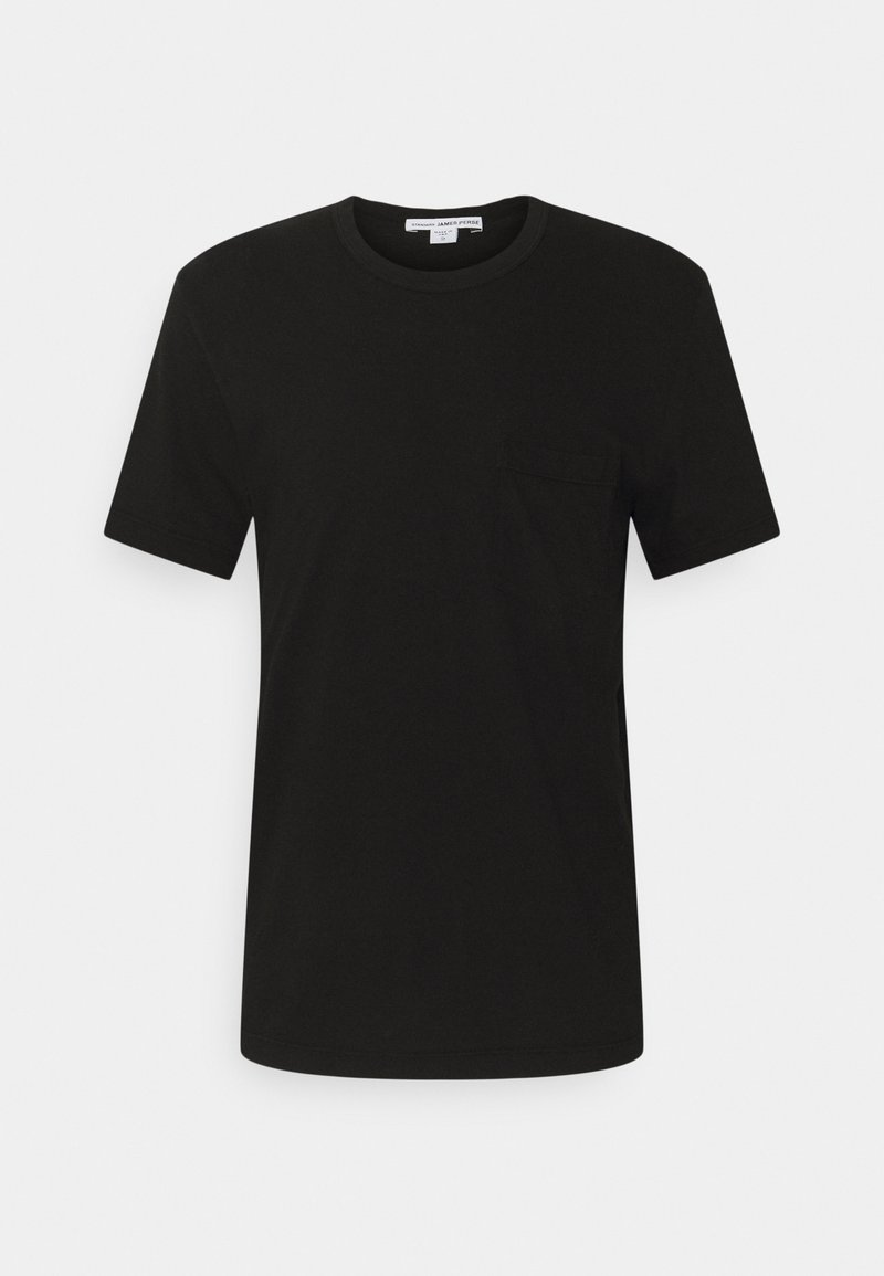 James Perse - POCKET TEE - T-shirt basic - black