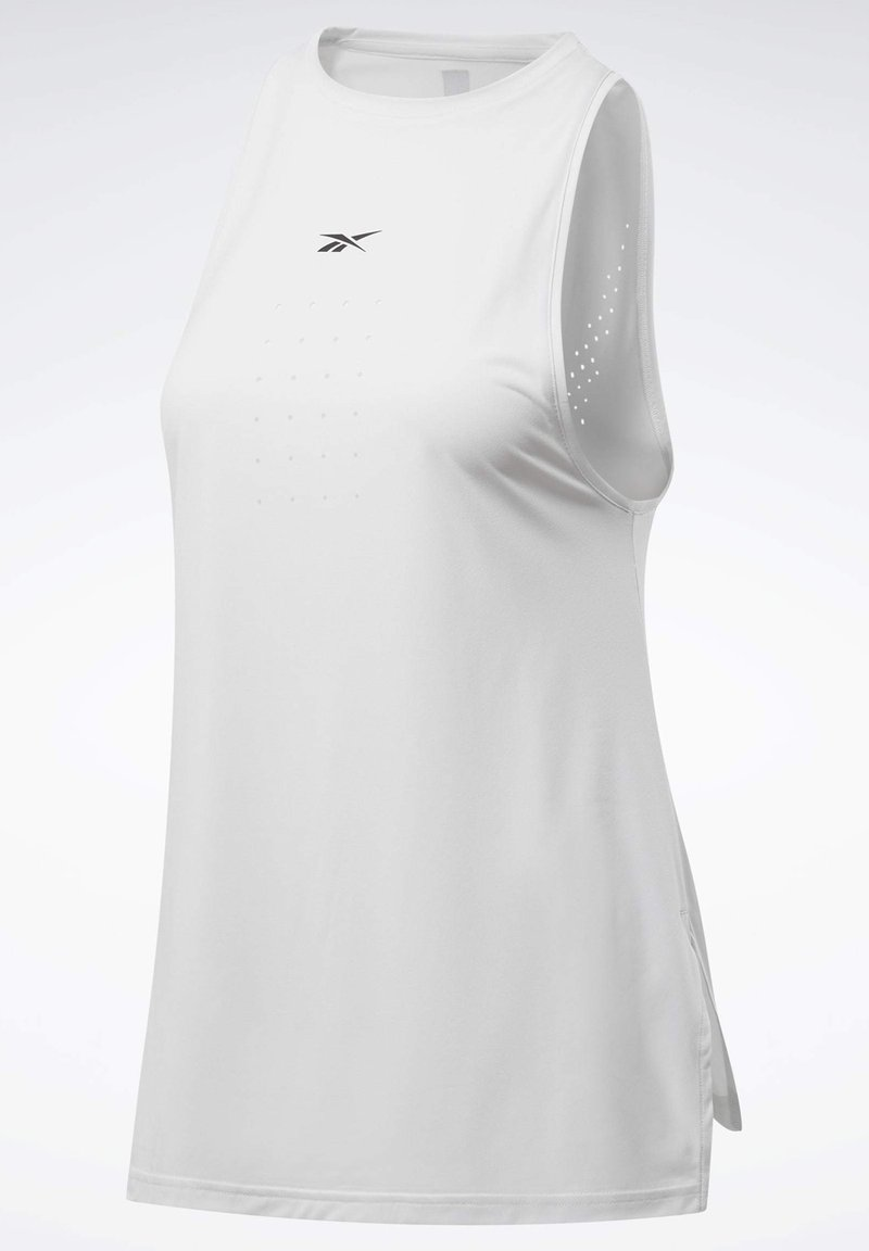 Reebok - UNITED BY FITNESS PERFORATED TANK TOP - Topper - grey