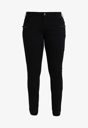 SANNA - Slim fit jeans - black