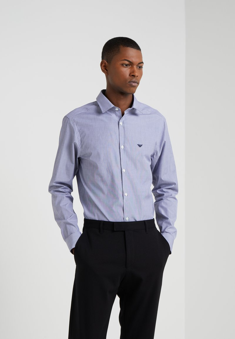 Emporio Armani - CAMICIA - Camisa - dark blue