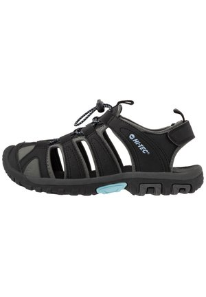 COVE  - Walking sandals - black/forget me not