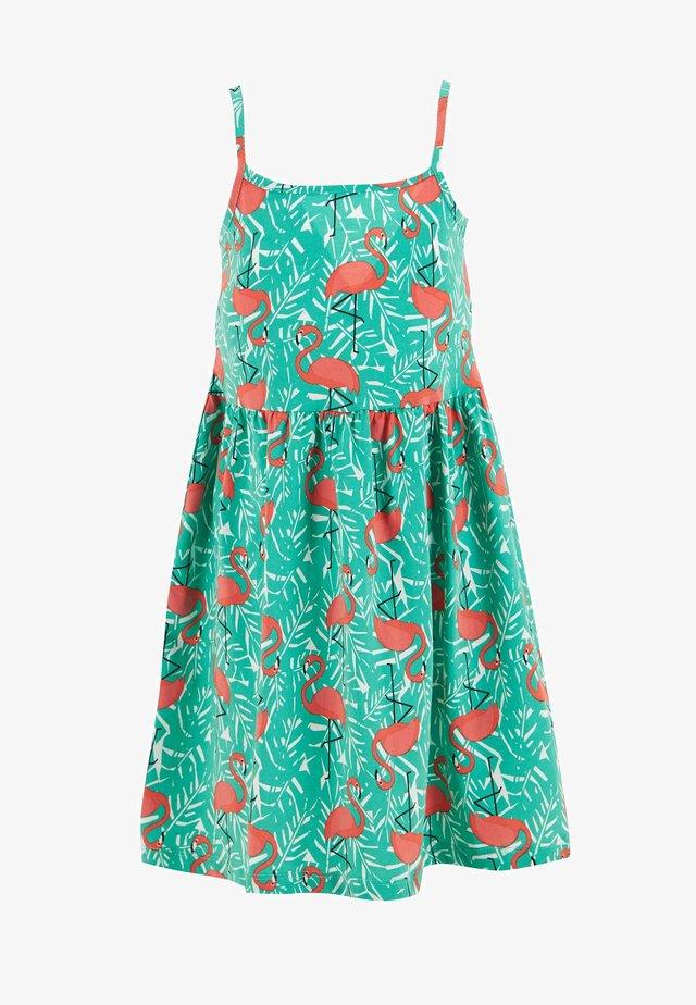 SUMMER - Jerseyklänning - green