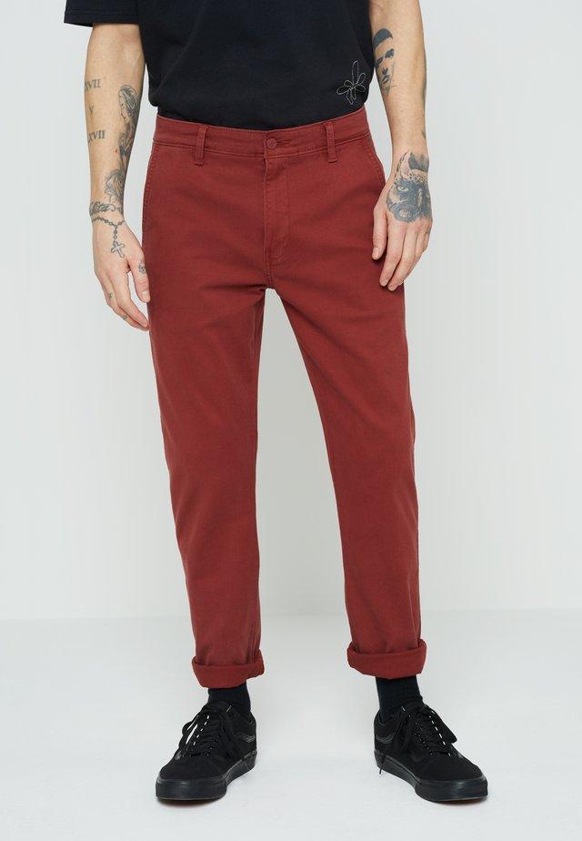 XX CHINO SLIM FIT II - Chino kalhoty - reds