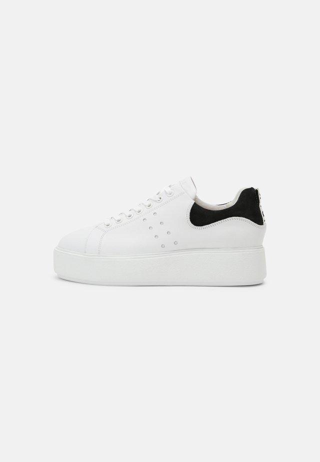 ELISE MARLOW - Sneakers basse - white/black