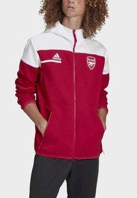 adidas Performance - Z.N.E. ARSENAL FC SPORTS FOOTBALL JACKET - Träningsjacka - actmar/white - 5
