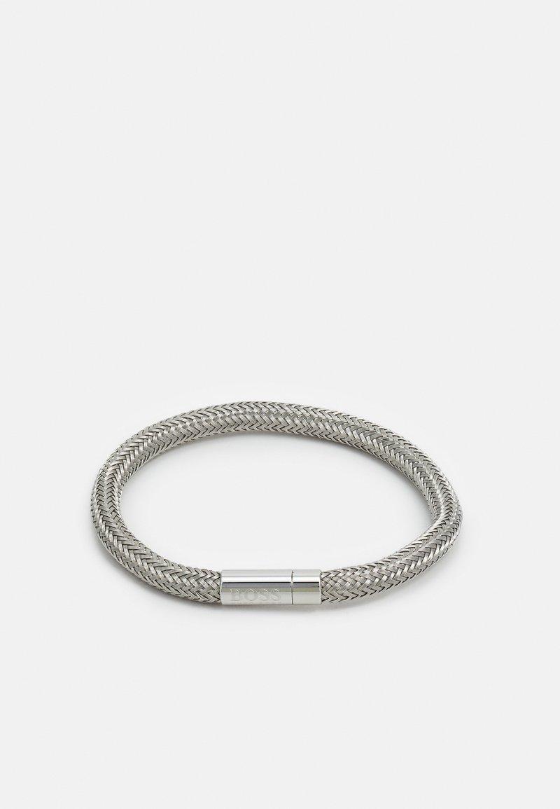 BOSS - ROPE - Náramek - silver-coloured