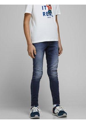 SKINNY FIT JEANS JUNGS - Jeans Skinny Fit - blue denim