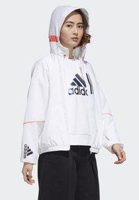 adidas Performance - Softshelljacke - white/black - 2