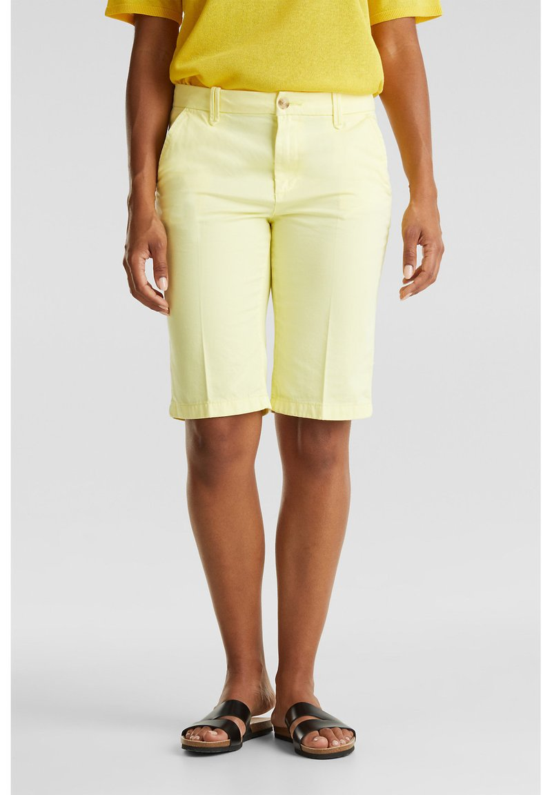 Esprit - Shorts - lime yellow