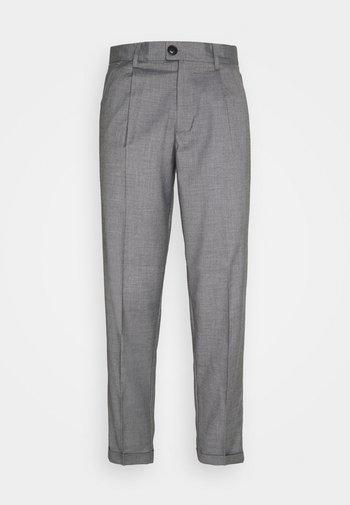 JJIBILL JJJORDY CROPPED - Trousers - grey melange