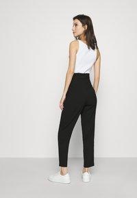 ONLY - ONLHERO LIFE STRING PANT - Trousers - black - 2