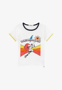 Billybandit - Print T-shirt - white/yellow - 2