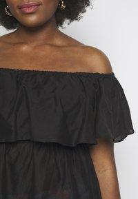 Simply Be - VALUE BARDOT BEACH DRESS - Doplňky na pláž - black - 5