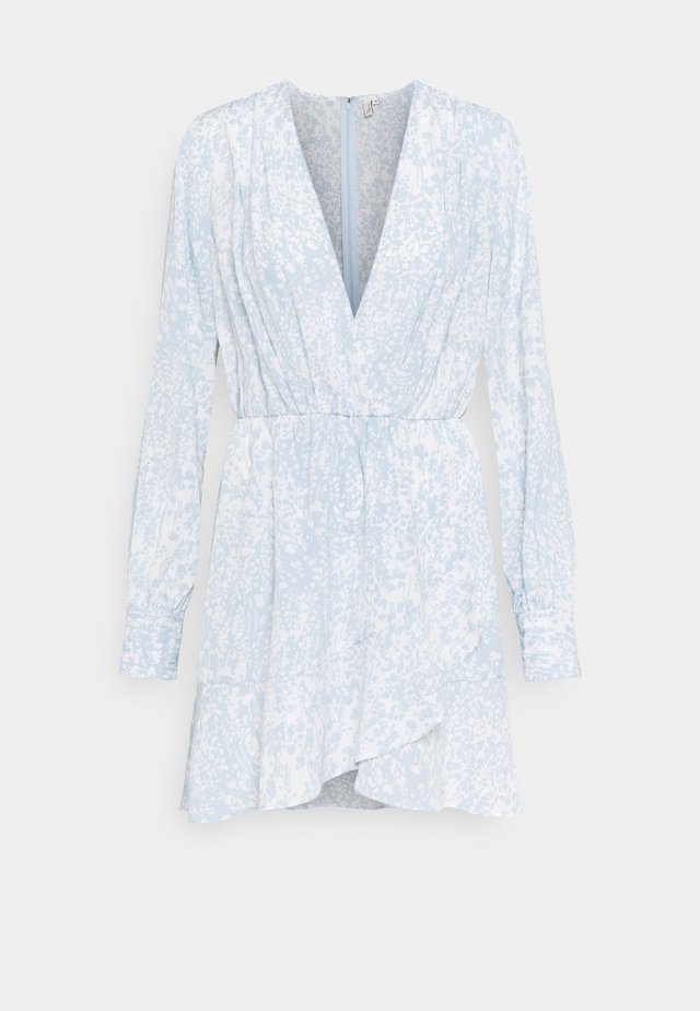 FLOUNCE AROUND DRESS - Vestito estivo - light blue
